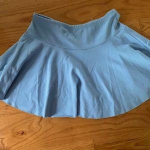 Light blue American apparel skirt